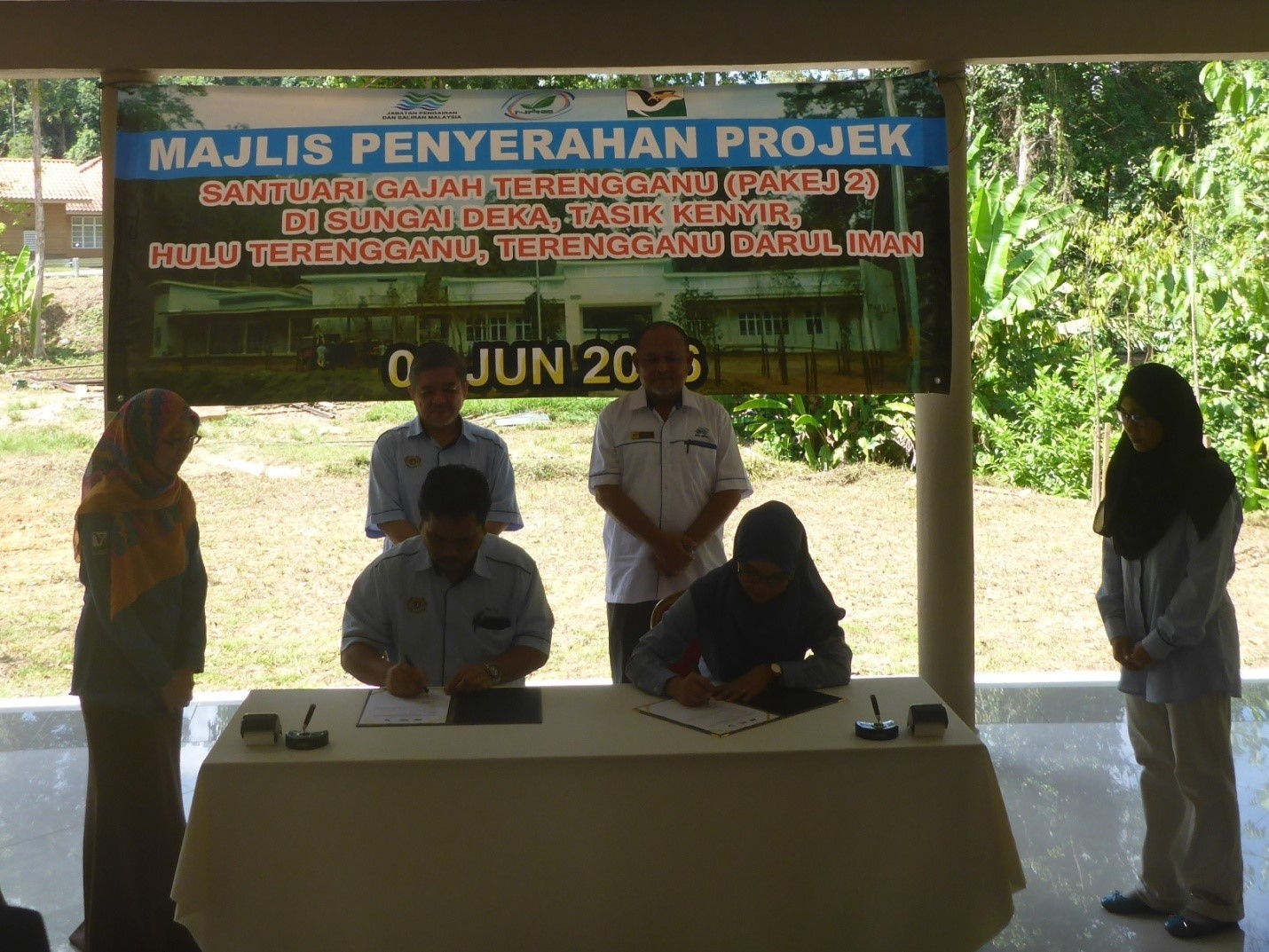 Majlis Penyerahan Pusat Konservasi Gajah Sungai Deka Di