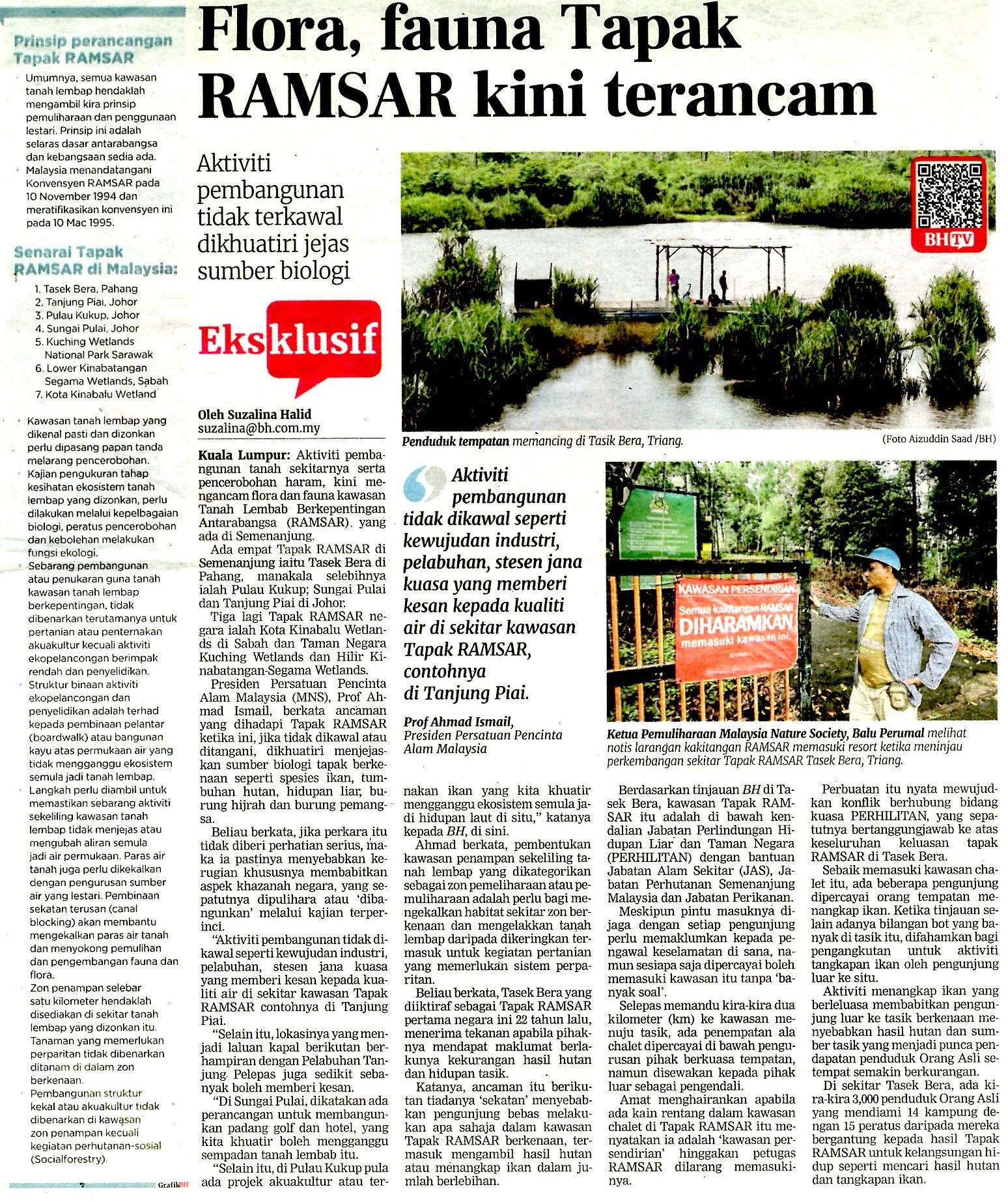 Tapak Ramsar Pulau Jerjak Pulau Pinang